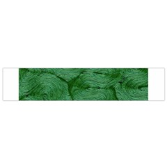 Woven Skin Green Flano Scarf (small)  by InsanityExpressed