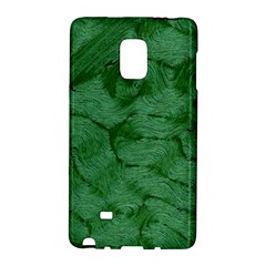 Woven Skin Green Galaxy Note Edge by InsanityExpressed