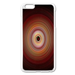 Colour Twirl Apple Iphone 6 Plus Enamel White Case by InsanityExpressed