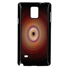 Colour Twirl Samsung Galaxy Note 4 Case (black) by InsanityExpressed
