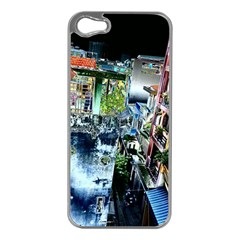 Colour Street Top Apple Iphone 5 Case (silver) by InsanityExpressed