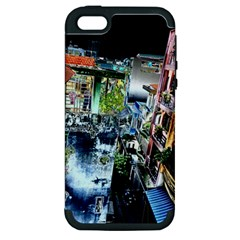 Colour Street Top Apple Iphone 5 Hardshell Case (pc+silicone) by InsanityExpressed
