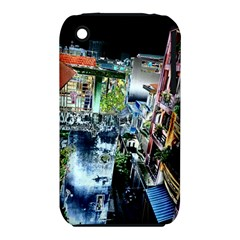 Colour Street Top Apple Iphone 3g/3gs Hardshell Case (pc+silicone) by InsanityExpressed