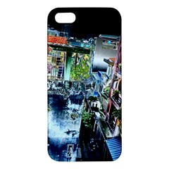 Colour Street Top Apple Iphone 5 Premium Hardshell Case by InsanityExpressed
