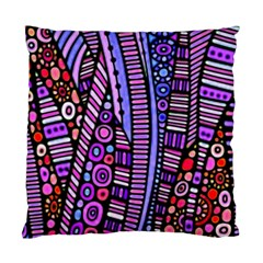 Stained Glass Tribal Pattern Standard Cushion Cases (two Sides)  by KirstenStar