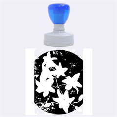 Bright Lilies Rubber Round Stamps (large)