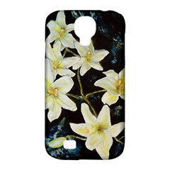 Bright Lilies Samsung Galaxy S4 Classic Hardshell Case (pc+silicone) by timelessartoncanvas