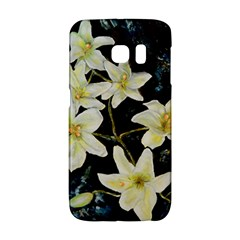 Bright Lilies Galaxy S6 Edge by timelessartoncanvas
