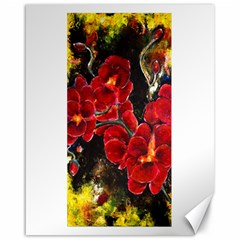 Red Orchids Canvas 16  X 20