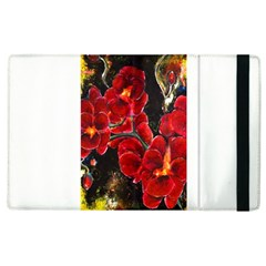 Red Orchids Apple Ipad 3/4 Flip Case by timelessartoncanvas