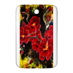 Red Orchids Samsung Galaxy Note 8 0 N5100 Hardshell Case  by timelessartoncanvas