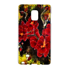Red Orchids Galaxy Note Edge by timelessartoncanvas