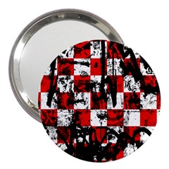 Emo Checker Graffiti 3  Handbag Mirrors by ArtistRoseanneJones