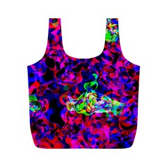 Electic Parasite Full Print Recycle Bags (m)  by InsanityExpressed