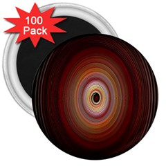 Colour Twirl 3  Magnets (100 Pack) by InsanityExpressed