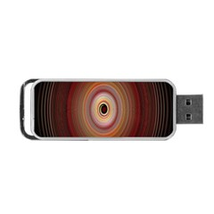 Colour Twirl Portable Usb Flash (two Sides) by InsanityExpressed