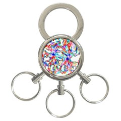 Soul Colour Light 3 Ring Key Chains by InsanityExpressed