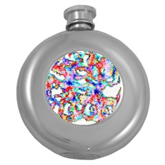 Soul Colour Light Round Hip Flask (5 Oz) by InsanityExpressed