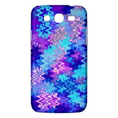 Blue And Purple Marble Waves Samsung Galaxy Mega 5 8 I9152 Hardshell Case  by KirstenStar