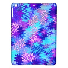 Blue And Purple Marble Waves Ipad Air Hardshell Cases by KirstenStar
