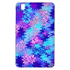 Blue And Purple Marble Waves Samsung Galaxy Tab Pro 8 4 Hardshell Case by KirstenStar