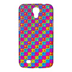 Crazy Yellow And Pink Pattern Samsung Galaxy Mega 6 3  I9200 Hardshell Case by KirstenStar
