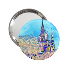 Castle For A Princess 2 25  Handbag Mirrors by Contest1918526