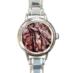 The Bleeding Tree Round Italian Charm Watches by InsanityExpressed