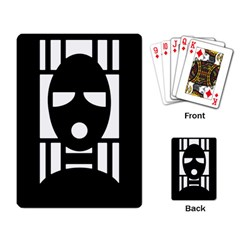 Masked Playing Card by ArtistRoseanneJones