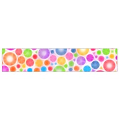 Candy Color s Circles Flano Scarf (small) by KirstenStarFashion