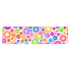 Candy Color s Circles Satin Scarf (oblong) by KirstenStarFashion