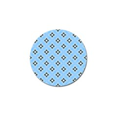 Cute Pretty Elegant Pattern Golf Ball Marker