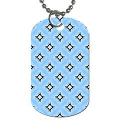 Cute Pretty Elegant Pattern Dog Tag (two Sides)