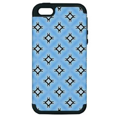 Cute Pretty Elegant Pattern Apple Iphone 5 Hardshell Case (pc+silicone)