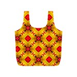 Cute Pretty Elegant Pattern Full Print Recycle Bags (S)  Back