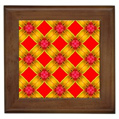 Cute Pretty Elegant Pattern Framed Tiles
