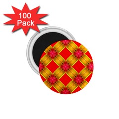 Cute Pretty Elegant Pattern 1.75  Magnets (100 pack)