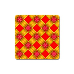 Cute Pretty Elegant Pattern Square Magnet
