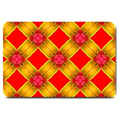 Cute Pretty Elegant Pattern Large Doormat