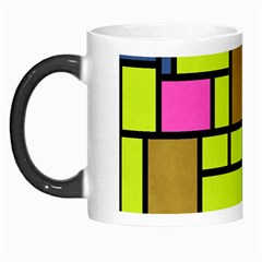 Squares And Rectangles Morph Mug by LalyLauraFLM