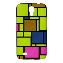 Squares And Rectangles Samsung Galaxy Mega 6 3  I9200 Hardshell Case by LalyLauraFLM
