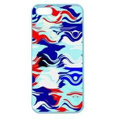 Wavy Chaos Apple Seamless Iphone 5 Case (color) by LalyLauraFLM