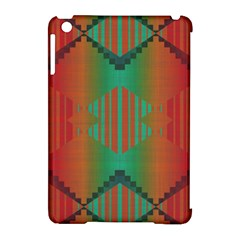 Striped Tribal Pattern Apple Ipad Mini Hardshell Case (compatible With Smart Cover) by LalyLauraFLM