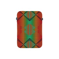 Striped Tribal Pattern Apple Ipad Mini Protective Soft Case by LalyLauraFLM