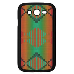 Striped Tribal Pattern Samsung Galaxy Grand Duos I9082 Case (black) by LalyLauraFLM