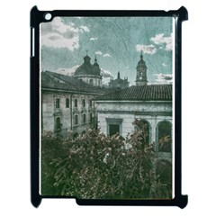 Colonial Architecture At Historic Center Of Bogota Colombia Apple Ipad 2 Case (black) by dflcprints