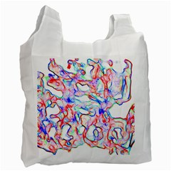 Soul Colour Light Recycle Bag (one Side) by InsanityExpressedSuperStore