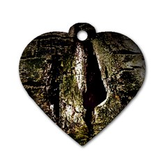 A Deeper Look Dog Tag Heart (One Side)