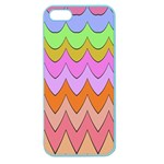 Pastel waves pattern Apple Seamless iPhone 5 Case (Color) Front