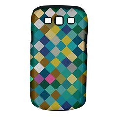 Rhombus Pattern In Retro Colors Samsung Galaxy S Iii Classic Hardshell Case (pc+silicone) by LalyLauraFLM